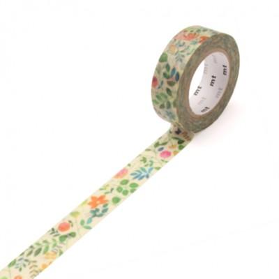 Masking Tape - Watercolor Flower