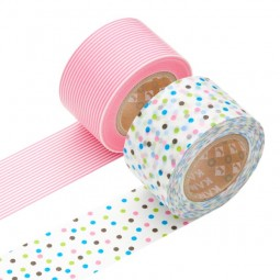 Masking Tape - Wide (B) – Border, cosmos & Drop, blue