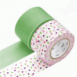Masking Tape - Wide (G) – Drop, green & Border, green