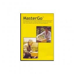 MasterGo, Partie-Datenbank und -Analyse, engl./dt.