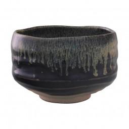 Matcha Schale - braun-schwarz