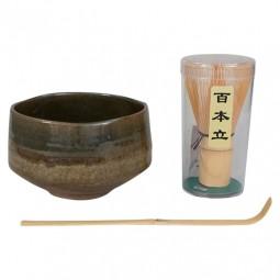 Matcha-Set Oribe Nagashi