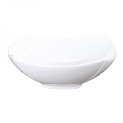 Mocha Schale Weiß 11,3x4,3cm