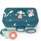 monbento Tresor 0,8 l Cosmic Blue - Die Bento Box für Kinder (Limited)