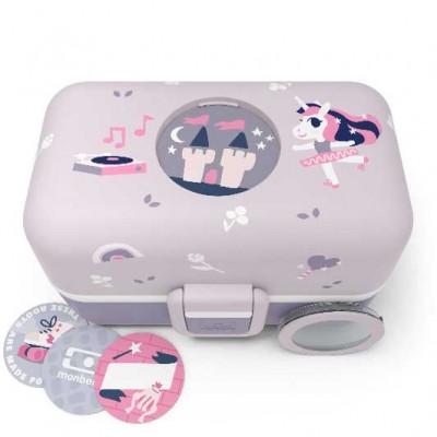monbento Tresor 0,8 l Purple Ballet - Die Bento Box für Kinder (Limited)