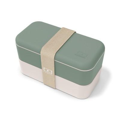 monbento Original 1 l - Bento Box Pastell Grün