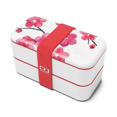 monbento Original 1 l - Bento Box Blüten (Limited Edition)