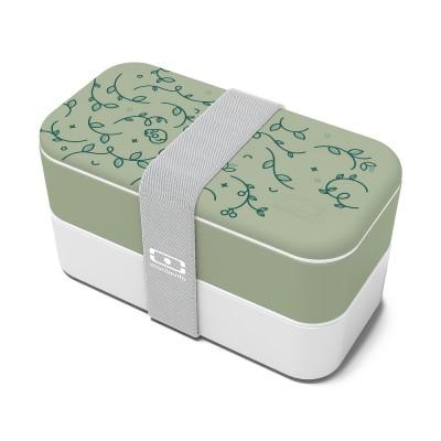 monbento Original 1 l - Bento Box Englischer Garten (Limited Edition)