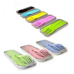 monbento Pocket Color - biologisches Besteck Set