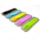monbento Pocket Color - biologisches Besteck Set