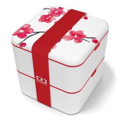 monbento Square 1,7 l Bento Box Blüten (Limited Edition)