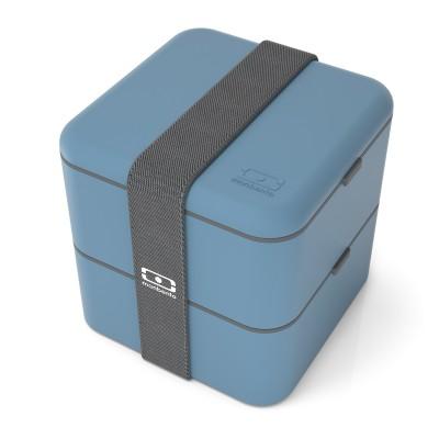 monbento Square 1,7l Bento Box JEANSBLAU