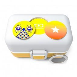 monbento Tresor 0,8l senfgelb - Die Bento Box für Kinder