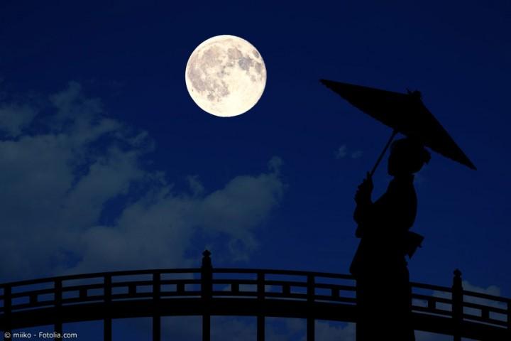 Jugoya – das japanische Mondfest zu Ehren des Herbstmondes