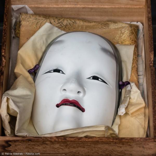 Japanische Masken – tolle Deko mit traditionellen Wurzeln