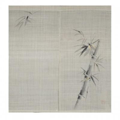 Noren - Bambus, Leinen beige, 88x150cm