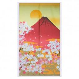 Noren - Fuji Sakura, 85x150cm, Polyester