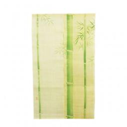 Noren - Grüner Bambus, Leinen beige, 88x150cm