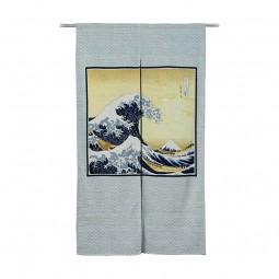Noren - Hokusai, 85x150cm