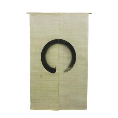 Noren - Maru, Leinen beige, 88x150cm