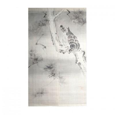 Noren - Matsu & Taka, Leinen beige, 88x150cm