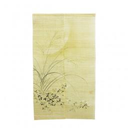 Noren - Tsuki, Leinen beige, 88x150cm