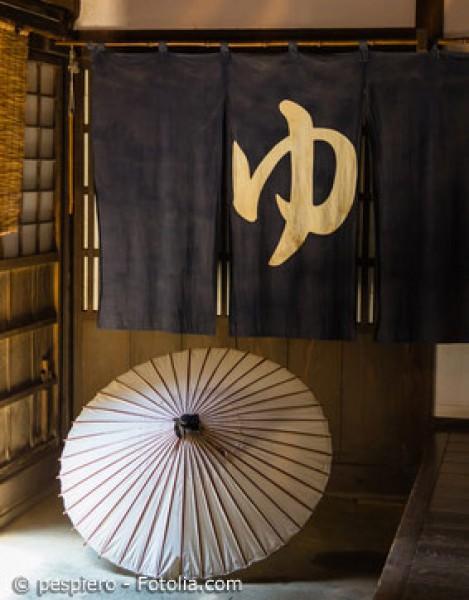 Der Noren – mehr als nur ein japanischer Vorhang