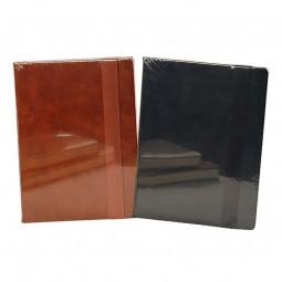 Notizbuch - Lederlook groß