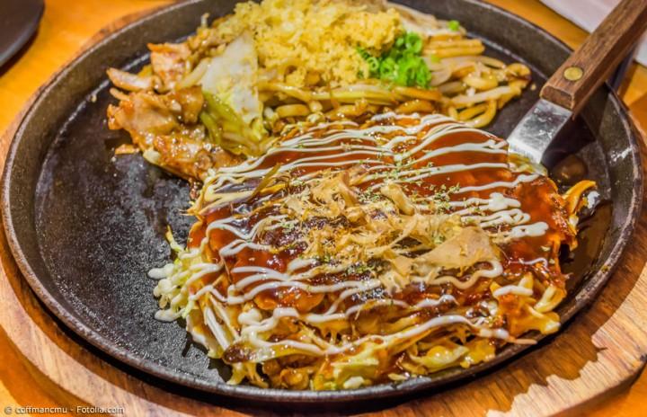 Okonomiyaki nach Hiroshima Art – Der