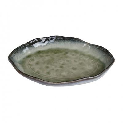 Organisch geformter Teller 'Yamasaku' 26x18,5cm