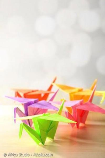 Werden Sie kreativ – japanisches Origami-Papier lädt Sie ein!
