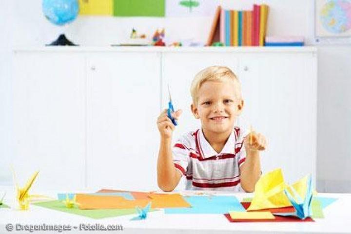 Origami-Papier kaufen und mit Kindern zum Schulanfang basteln