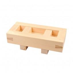 Oshi Sushi Holzform aus Edelholz (Hinoki-Scheinzypresse)