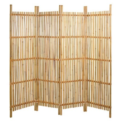 Paravent Bambus-Lamellen