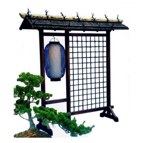 Paravent - Dangban, mit Lampe