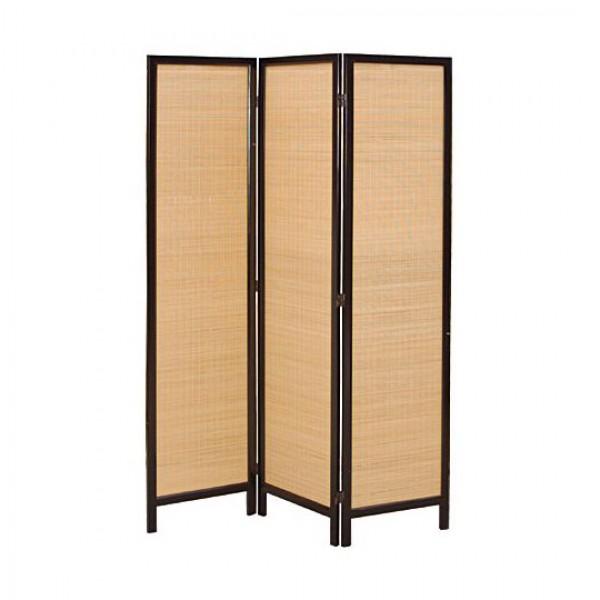 paravent feine bambus lamellen paravents raumteiler. Black Bedroom Furniture Sets. Home Design Ideas