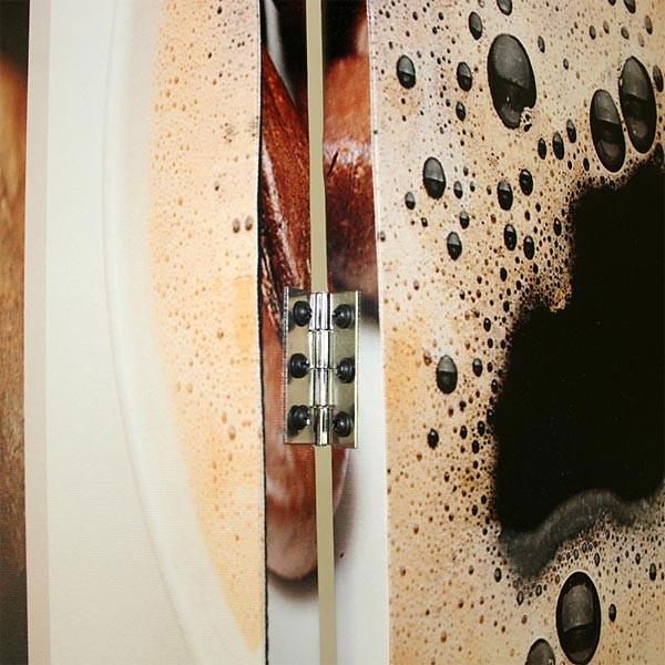 paravent kaffee ii paravents raumteiler japanwelt. Black Bedroom Furniture Sets. Home Design Ideas
