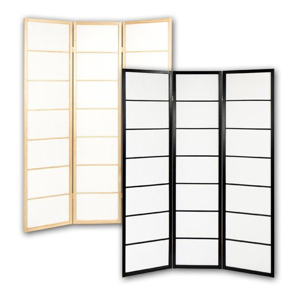 paravent room divider 39 basic 39 room dividers shop japanwelt. Black Bedroom Furniture Sets. Home Design Ideas