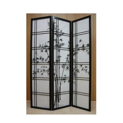 paravent sasa bambusmotiv paravents raumteiler. Black Bedroom Furniture Sets. Home Design Ideas