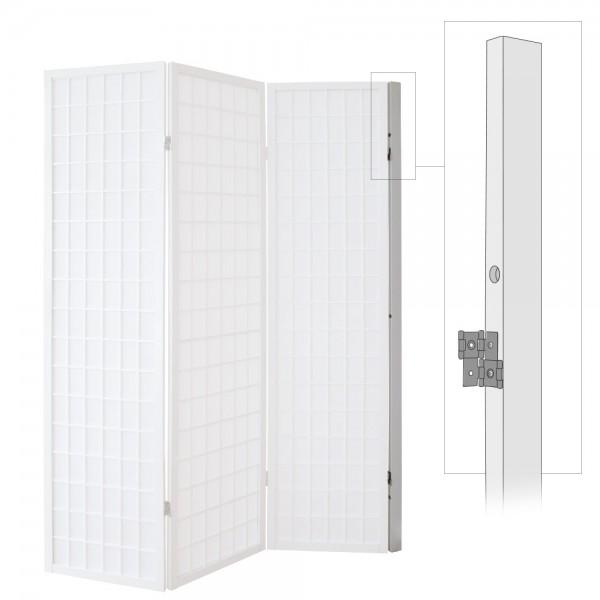 screen wall mount folding screens room divider japanwelt. Black Bedroom Furniture Sets. Home Design Ideas