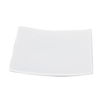 Porzellanteller quadratisch klein 'Weiße Serie'