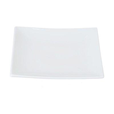 Porzellanteller 'Weiße Serie'