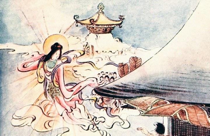 Japanische Märchen und Figuren der japanischen Geschichte