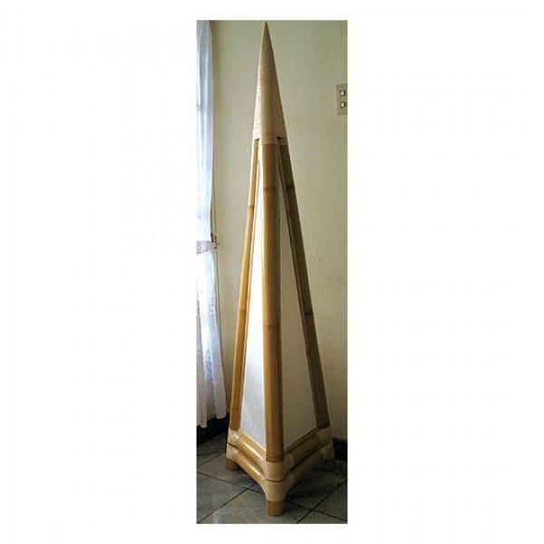 pyramiden stehlampe tisch stehlampen asiatische. Black Bedroom Furniture Sets. Home Design Ideas