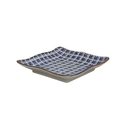 Quadratischer Teller - Sakanamoji
