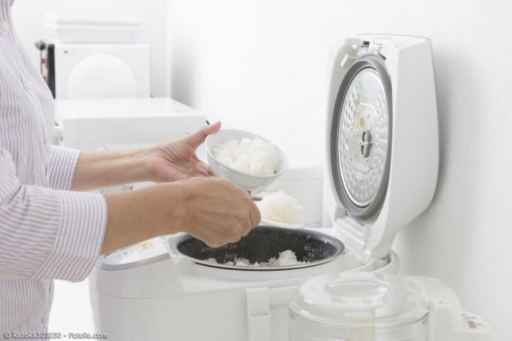 Der Reiskocher ist die Basis jeder Küche in Japan