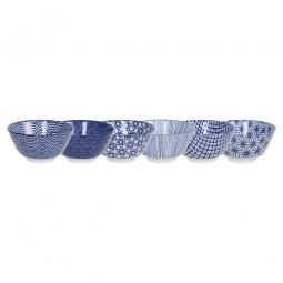 Reisschalen Set 'Japan Blau'