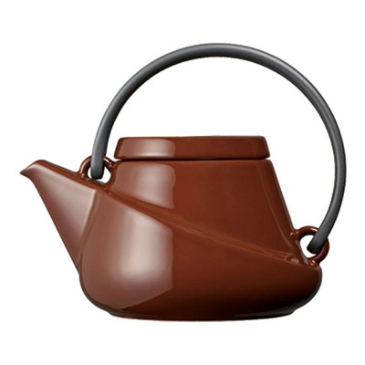 RIDGE farbenfrohe Teekanne 450ml mit Abseiher