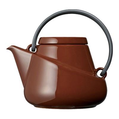 RIDGE farbenfrohe Teekanne mit Abseiher