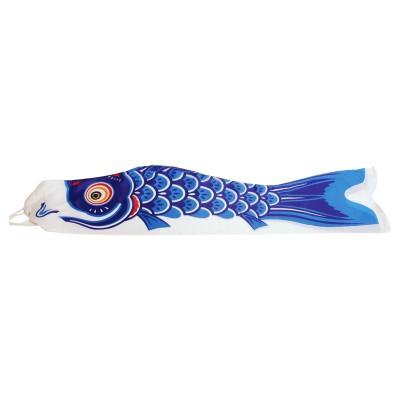 Riesen Wind Koi - Koinobori Blau